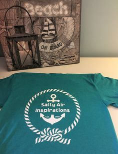Custom Made Shirts, Newfoundland And Labrador, How To Clean Iron, White Vinyl, Teal Colors, Logo Inspiration, Adult Coloring, Colorful Shirts, Unisex