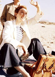 Cate Blanchett as Katharine Hepburn in The Aviator [2004]