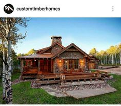 Custom timber home ♡