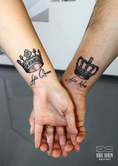 inspiration tatouage de couple les couronnes de roi et reine mariage pinterest tatouage. Black Bedroom Furniture Sets. Home Design Ideas