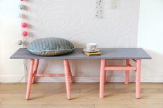DIY : créer un banc avec 2 vieilles chaises