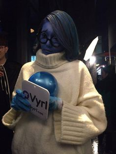 SM Artists Have an Epic Halloween Party - Sooyoung does Sadness really well!! LOL! Very on point!