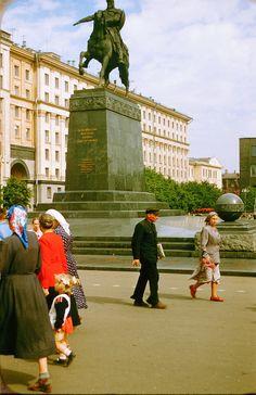 1950-е Москва