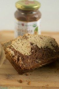 Nutella Gluten Free Banana Bread Recipe via @clarkscondensed