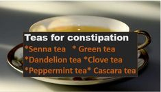 Best teas for constipation - LORECENTRAL