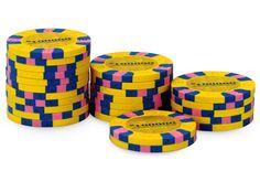 Rouleau de 25 jetons Nexgen Pro Classic $100000 - Pokeo.fr - Rouleau de 25 jetons poker 100% clay (9,5g) Nexgen Pro Classic $100.000 jaune.