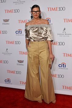 Designer Jenna Lyons attends 2016 Time 100 Gala Time's Most Influential People In The World at Jazz At Lincoln Center at the Times Warner Center on...