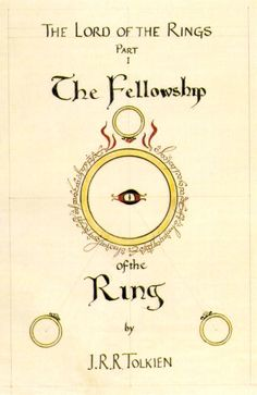 Check out the book covers personally designed by JRR Tolkien for The Lord of the Rings series.