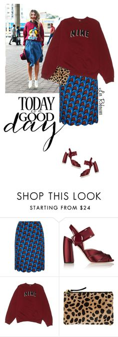"""Show your style"" by mrs-len on Polyvore featuring J.W. Anderson, Miu Miu, NIKE and Clare V."