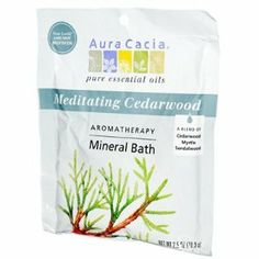 Aura Cacia Aromatherapy Mineral Bath Meditation - 2.5 oz - Case of 6 Aura Cacia Aromatherapy Minera by Aura Cacia. $34.50. Picture may wrongfully represent. Please read title and description thoroughly.. Brand Name: Aura Cacia Mfg#: 0682559. Please refer to SKU# ATR26138172 when you inquire.. Shipping Weight: 1.08 lbs. This product may be prohibited inbound shipment to your destination.. . Aura Cacia Aromatherapy Mineral Bath Meditation .Description:. . Cool earth and rich ceda...