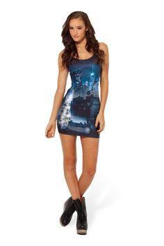 Dark City Dress › Black Milk Clothing (M) Black Milk Clothing, Ciudad New York, Dark City, Dress Up, Bodycon Dress, Best Leggings, Printed Leggings, My Black, Me Too Shoes