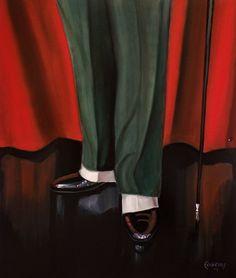 Sapatos e polainas by Fabrini Crisci  #stage #shakespeare #art #artist #interior #design #painting Shakespeare, Stage, Painting, Design, Fashion, Shoes, Interiors, Moda, Fashion Styles