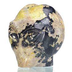 Alien Skull, Stone, Rock, Stones, Batu