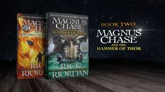 Magnus Chase and The Hammer of Thor Book Trailer