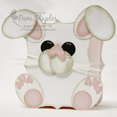 Punch Art Bunny Box created by