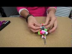 ▶ Bowdabra Loopy Hair Bow Tutorial - YouTube Colorful Loopy Hair Bow – DIY Tutorial