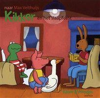 Kikker en het slaapfeest http://www.bruna.nl/boeken/kikker-en-het-slaapfeest-9789025853365