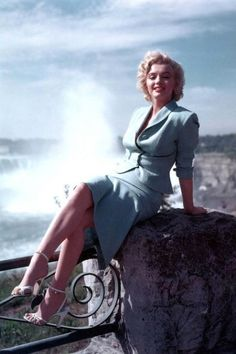 Marilyn Monroe and Crossing Legs Photograph