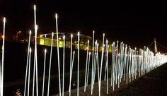 Decoração luminosa LED para espaços públicos TYPHA by iGuzzini Illuminazione design Susana Jelen, Eduardo Leira