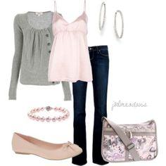 Light Pink & Gray