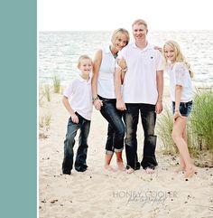 #family #portrait #beach #4 #four