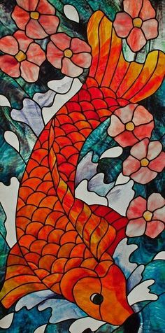 Fantasy art stained glass dragon by amarys at epilogue stained fandeluxe Gallery