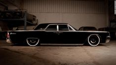 1963 Lincoln Continental by Mobsteel with AccuAir suspension and 20 Detroit Steel Wheel Co. Chevrolet Impala, Chevy, Maserati, Bugatti, Ford Motor Company, My Dream Car, Dream Cars, Dream Big, Detroit Steel Wheels