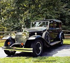 1930 Rolls Royce Vintage Elegance #rollsroycevintagecars