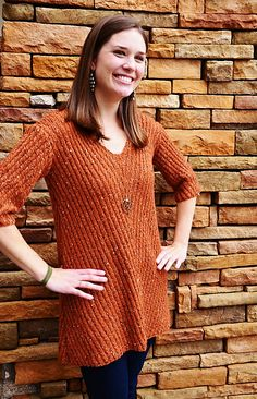 Ravelry: Lucille Tunic pattern by Katie Ball