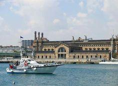 El port de Barcelona.