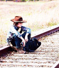 Train tracks and Carl