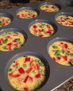 Crustless Mini Quiches | Mini Quiches, Quiche and Nutritious Breakfast