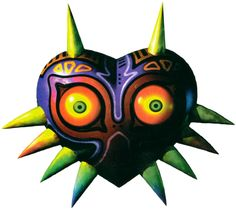 Majora's Mask - The Legend of Zelda; Official artwork for the game