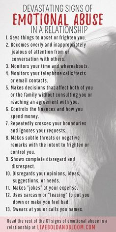 Learn to recognize the signs of emotional abuse in relationships so you can start reclaiming your power and self-esteem. Do you recognize the signs of emotional abuse? Don't let yourself be fooled by the convert tactics of a controlling emotional abuser. Trauma, Ptsd, Narcissistic Behavior, Narcissistic Abuse Recovery, Narcissistic Men Signs, Somatic Narcissist, Signs Of A Narcissist, Narcissist Quotes, Writing Prompts