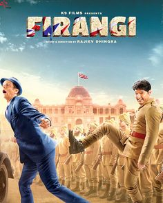 Firangi first look poster: Kapil Sharma is ready to kick angrezi butt in his second movie as the lead #FansnStars