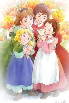 Les 4 Filles Du Docteur March Dessin Animé : filles, docteur, march, dessin, animé, Idées, Filles, Docteur, March, Quatre, March,, Souvenirs, D'enfance,