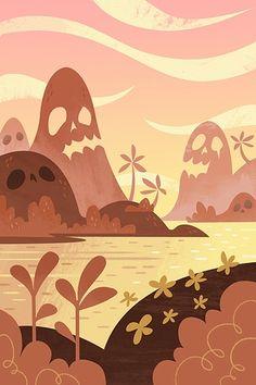 Poolga - Skull Island - Gorillustrator