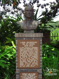 Louis Antoine Juchereau de St. Denis, a French-Canadian soldier and explorer,  established Natchitoches in 1714 making Natchitoches the oldest permanent settlement in the Louisiana Purchase.