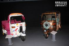 The contemporary art gallery of the museum houses beautiful autos that symbolize the copper sculpture and have canvas beautified with colourful tapes!