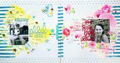 Imaginarium Designs : Heart Double layout by Amanda Baldwin featuring Cocoa Vanilla Studio Make a Wish collection