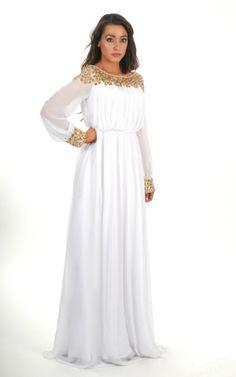 Maxi dress with sleeves muslim brotherhood