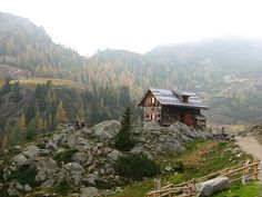 St.Oswalder Bockhütte, 1840m above sea level, Bad Kleinkirchheim, Carinthia, Austria