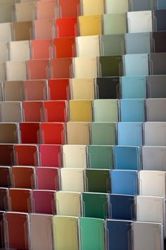 the new collection of historically accurate paint colors Colonial Williamsburg recently launched with Benjamin Moore.