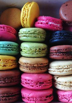 jewel-tone #macarons