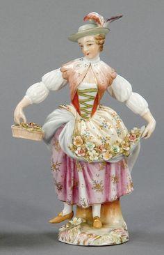 Blumenmädchen  Gebr. Voigt Porzellanmanufaktur und Alfred Voigt AG, ab 1887