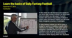 In this article we will introduce and explain to you what daily fantasy football is all about and how and where you can play it.