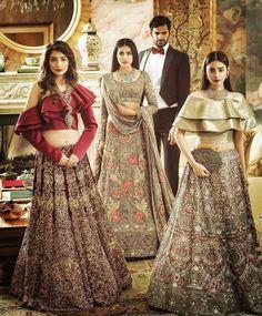 Pakistani couture by Honey Waqar