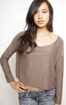 Sway Chic Taupe Off Shoulder Top