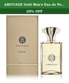 AMOUAGE Gold Man's Eau de Parfum Spray, 1.7 oz. Amouage is ultra luxury, its roots in modern Arabian opulence and splendor, its quality enjoyed around the world as the height of wealth, success and sensual sophistication. Amouge combines the mystery, exoticism and the two thousand year heritage of the perfumery of Arabia, with the finest modern French perfume technology and expertise, created by legendary French master perfumer Guy Robert, to deliver a classic prestige brand that is...