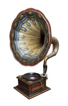 Beautiful old phonograph